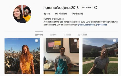 What is Humans of Bob Jones?