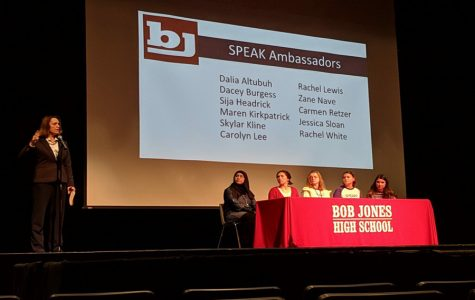 Bob Jones SPEAK Ambassadors Campaign for Suicide Awareness