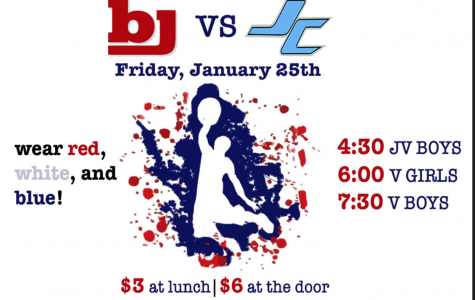 Wear Red-White-Blue to the BJ vs. JC Basketball Game