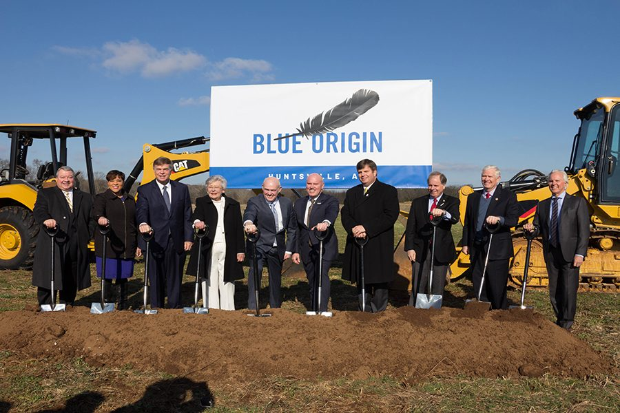 Blue Origin Breaks Ground on Huntsville Rocket Plant