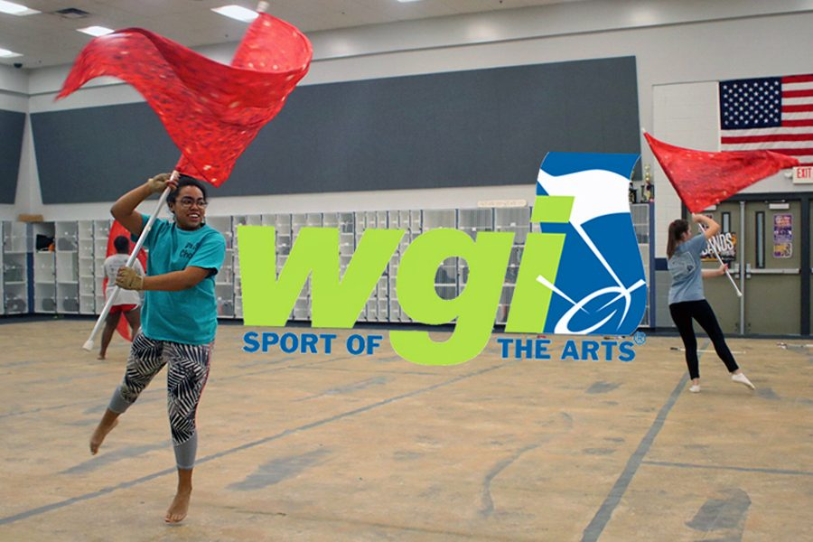 The+guard+is+getting+ready+for+their+WGI+competitions