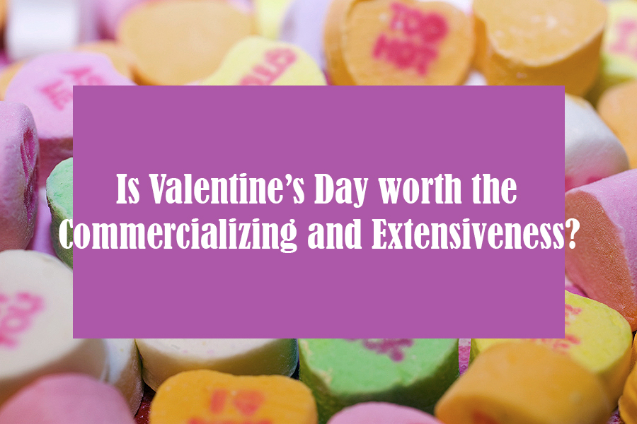 Valentine's Day is a holiday that is accused of being oversold to the United States.