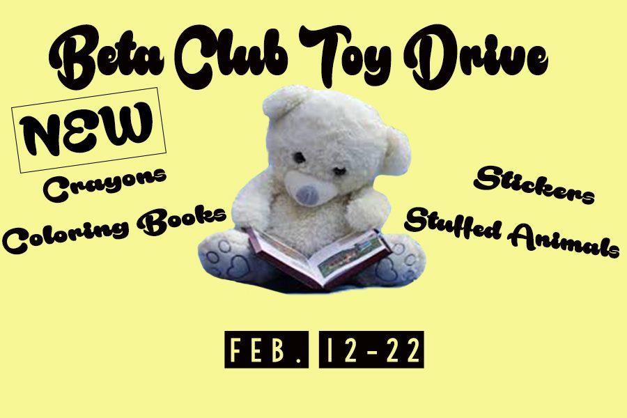Beta Club Toy Drive