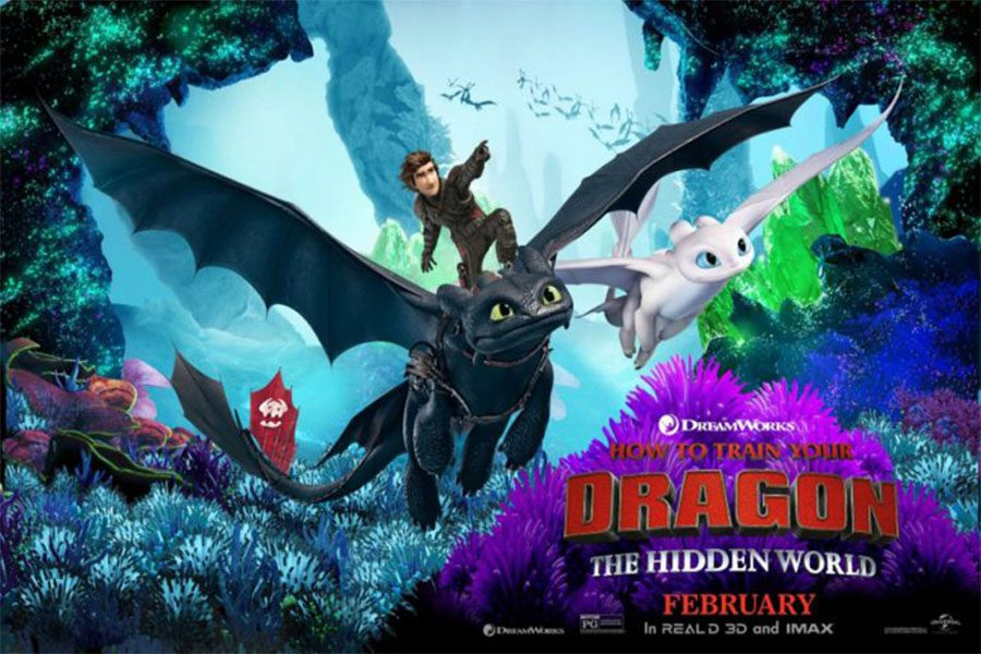 How to Train your Dragon: The Hidden World; probably Dreamworks' best animated film