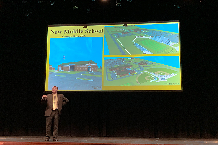 Superintendent Parker Proposes Two New Schools at 2019 State of the Schools Address