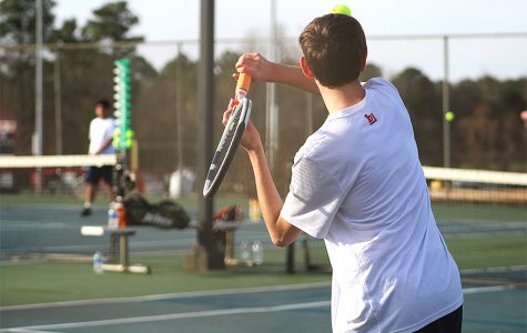 Boys Tennis Triumphs Over Sparkman
