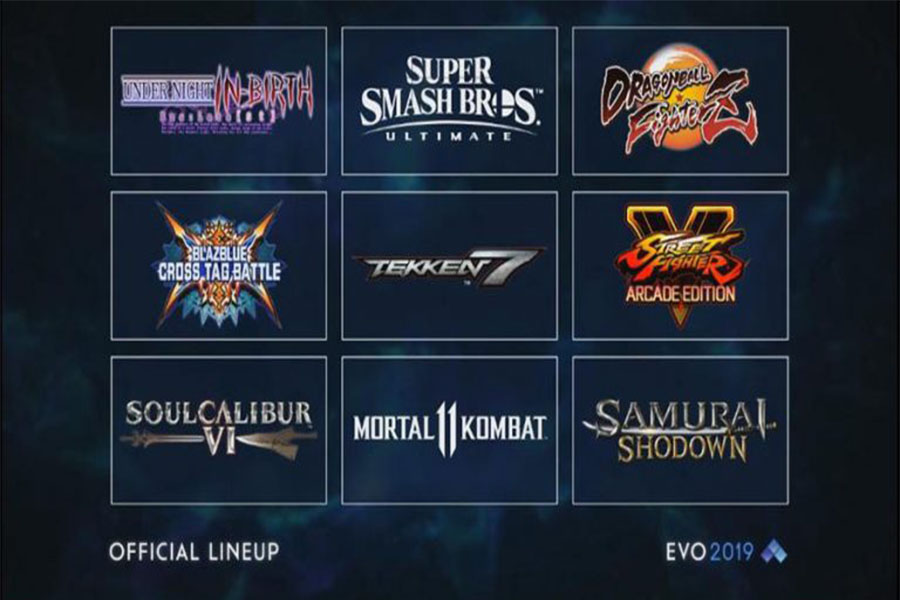 From Evo's official Twitter. Ultimate replaces Melee.