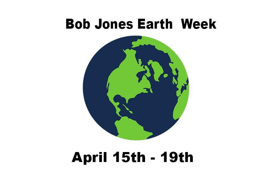 Bob Jones Takes on Earth Week