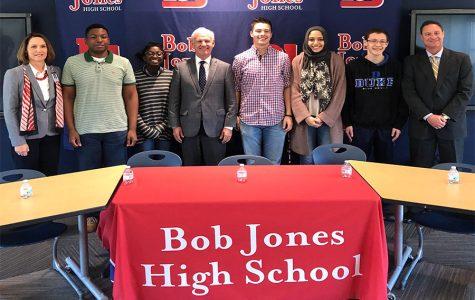 Senatorial Candidate Bradley Byrne Visits Bob Jones