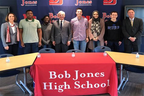 Bob Jones Chess Sweeps State