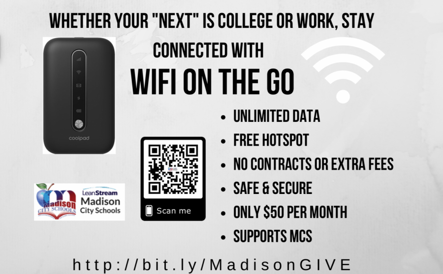 Wifi on the Go: Getting Something in Return for Your MCS Donation