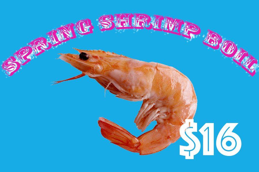 Sign Up for Seniors Only Spring Shrimp Boil