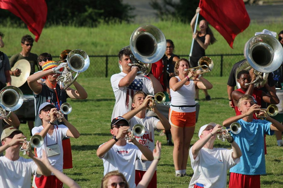 The Bob Jones Marching Band Halftime Preview Showcase