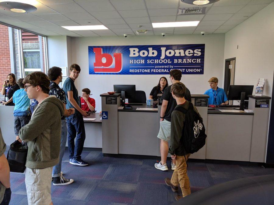 The Bob Jones Branch of Redstone Federal Credit Union