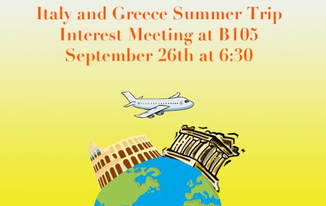 Want to Travel to Italy and Greece?