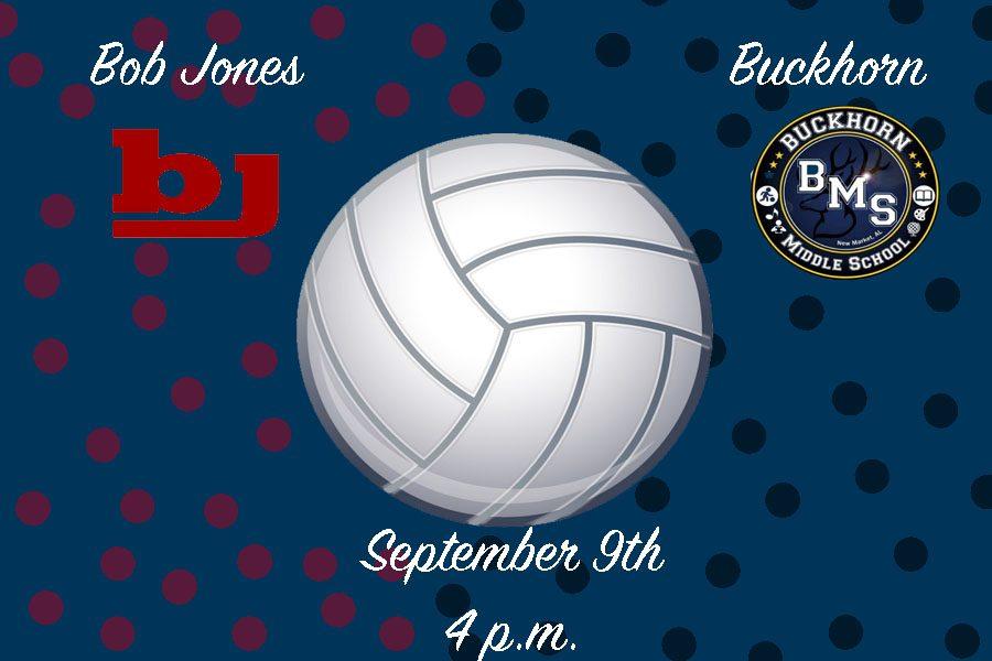 Volleyball: Bob Jones vs. Buckhorn