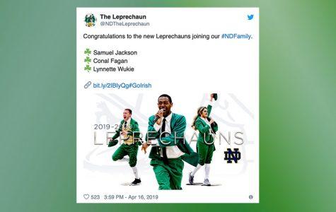 Fighting Irish Spirit: BJ Alumnus Notre Dame School Mascot