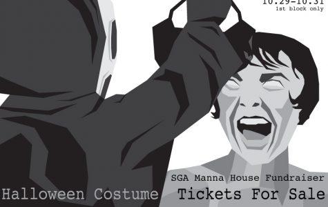 SGA's Manna House Halloween Fundraiser