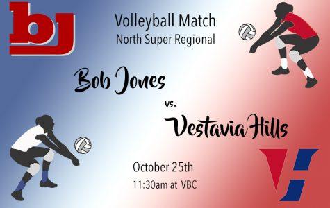 Volleyball: Bob Jones vs. Vestavia Hills
