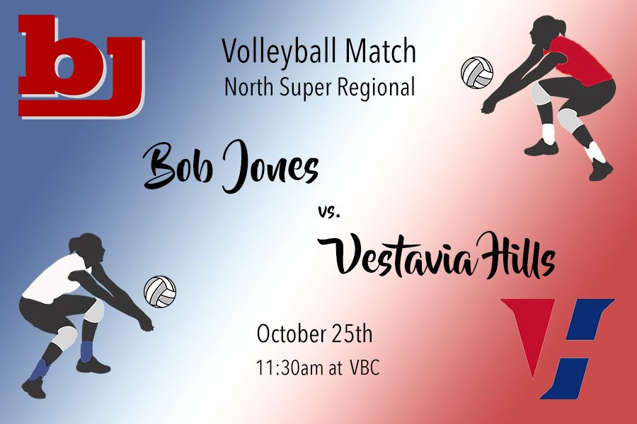 Volleyball: Bob Jones vs. Vestavia Hills
