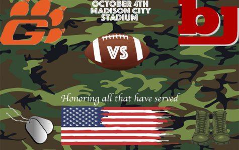 BJ vs Grissom: Military Appreciation Night