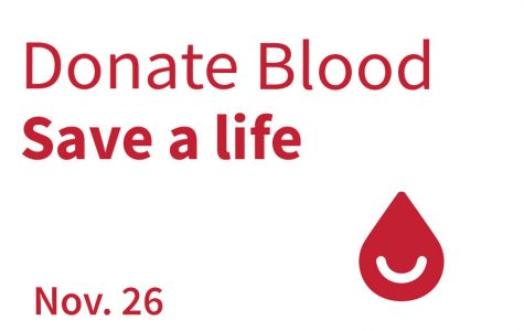 Donate Blood on November 26th!