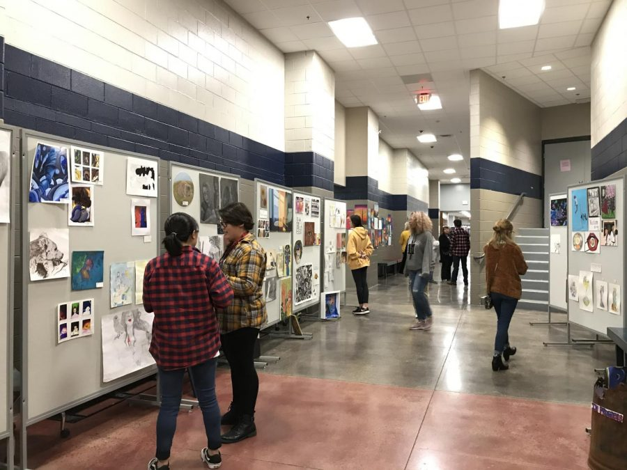 Winter Art Show At a Glance