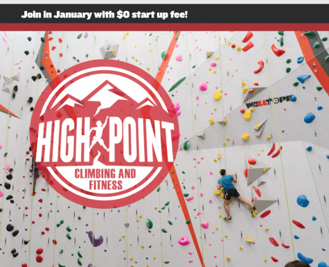 high point climbing gym website