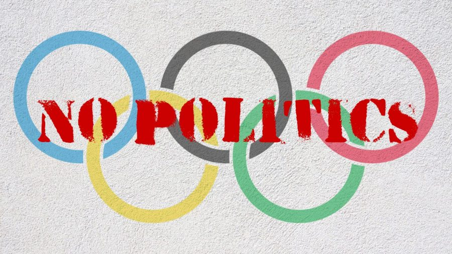 Olympics says NO to Politics