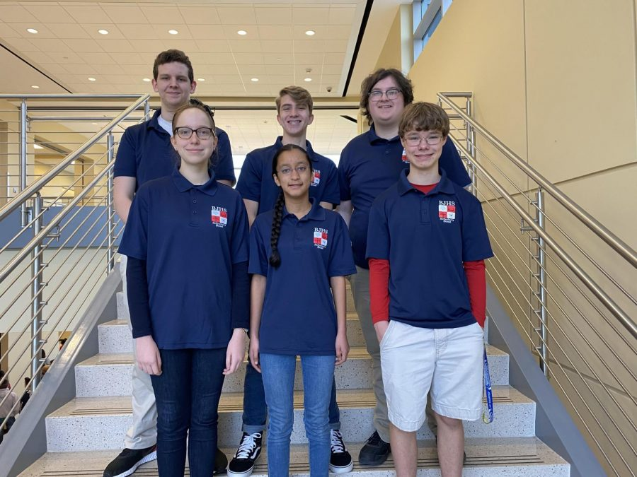 JV Scholars Bowl Team Qualifies for State