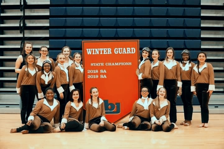 BJHS Guard Earns Banner in Gym