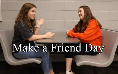 Today is National Make a Friend Day!