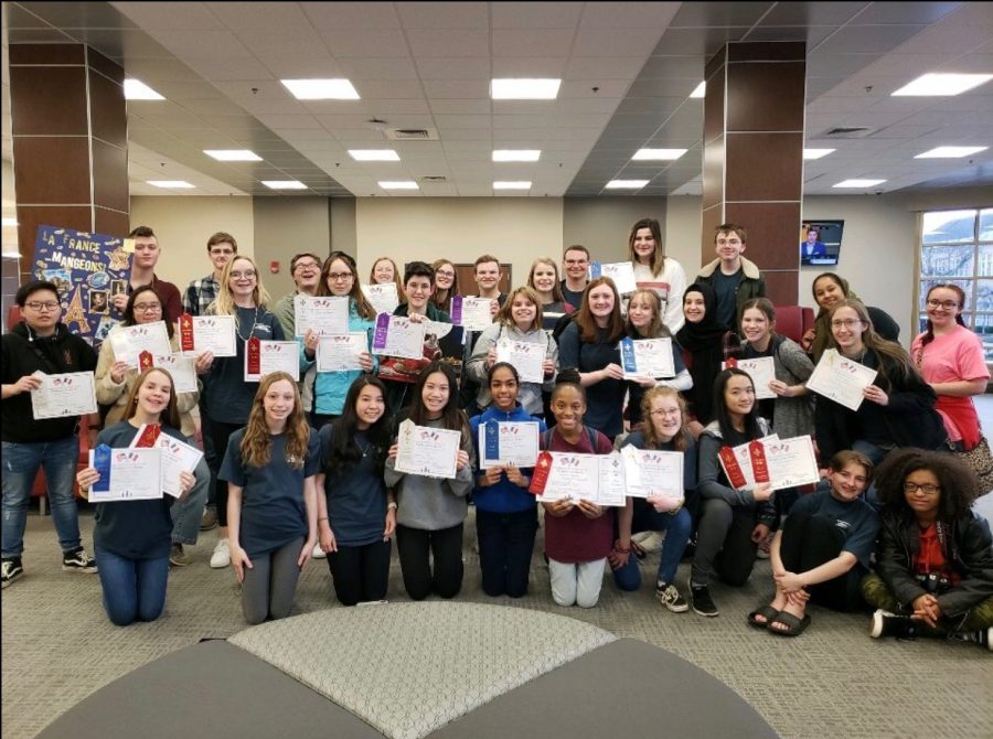 Students Were Magnifique at French Convention