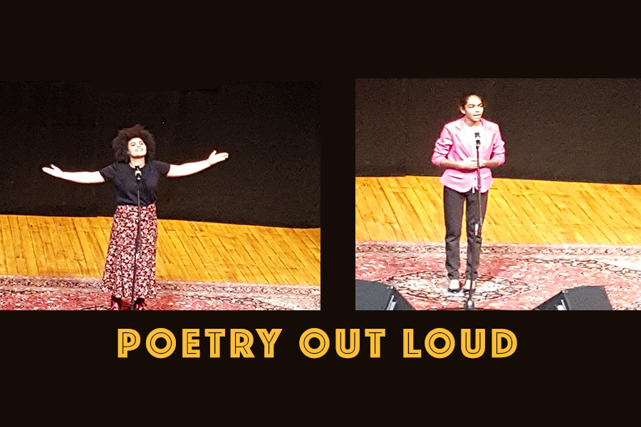 Poetry Out Loud Competition Results