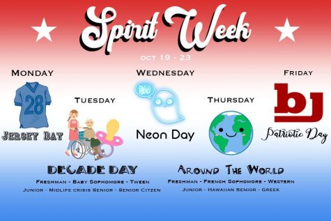BJHS Homecoming Parade & Spirit Week