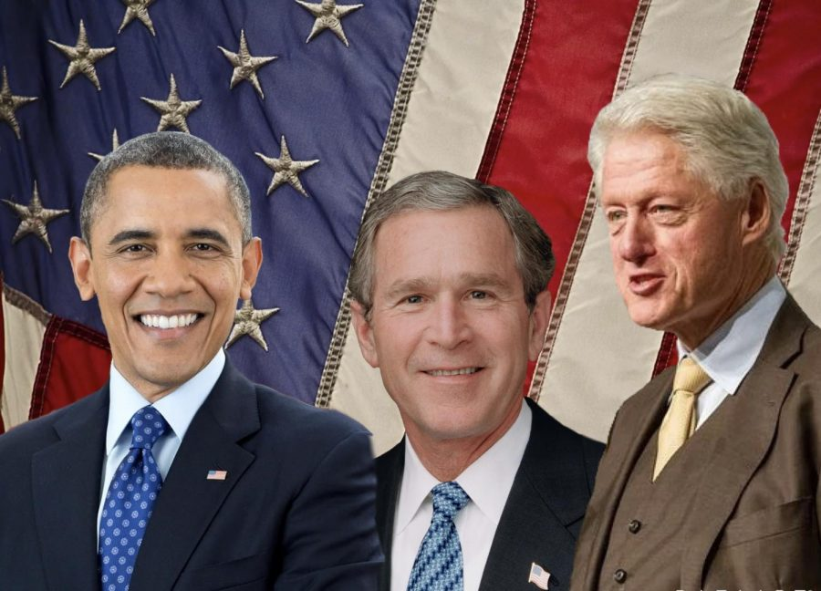 The Three Former Presidents at Joe Biden's Inauguration