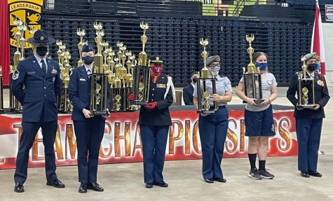 AFJROTC Does Outstanding Job at Daytona Nationals