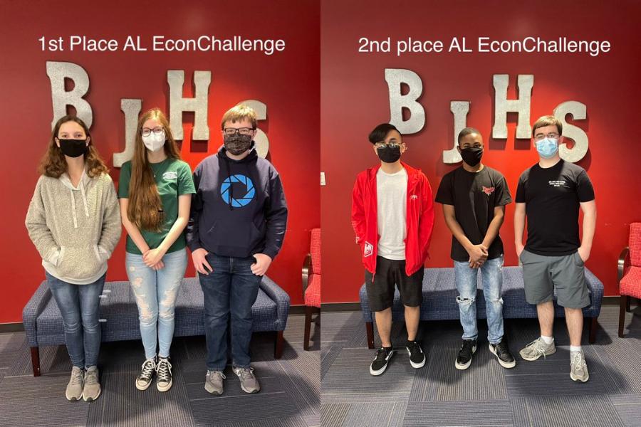 Economics Contest Winners